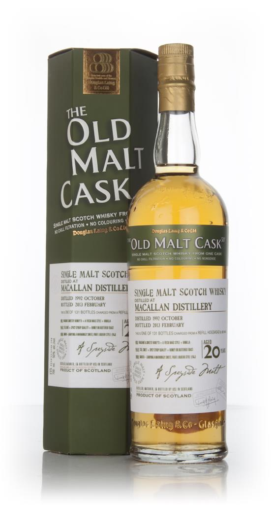 Macallan 20 Year Old 1992 (cask 9449) - Old Malt Cask (Douglas Laing) Single Malt Whisky