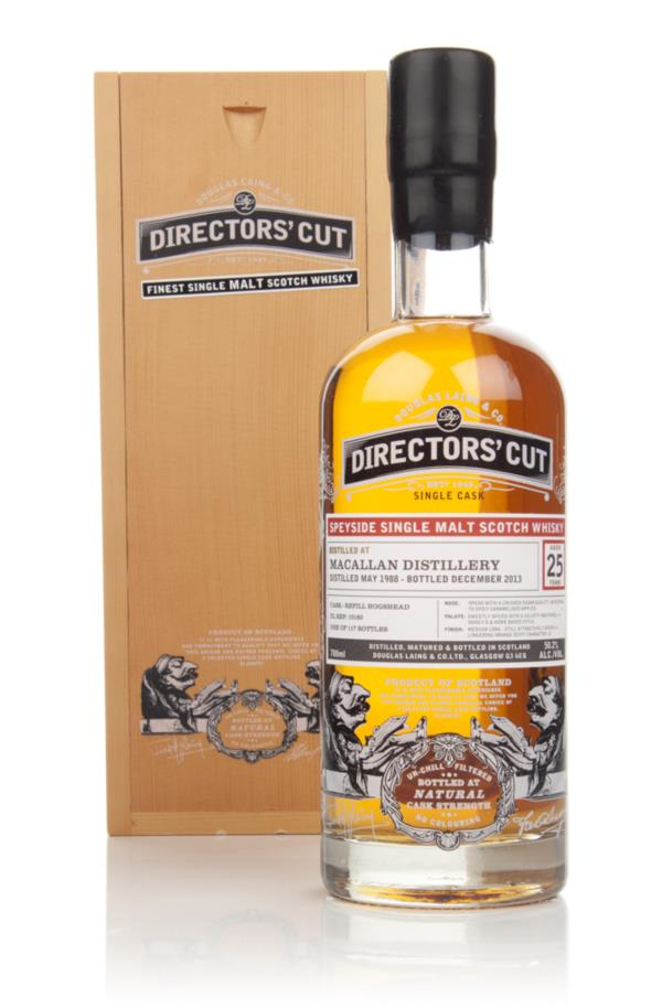 Macallan 25 Year Old 1988 (cask 10160) - Directors' Cut (Douglas Laing Single Malt Whisky