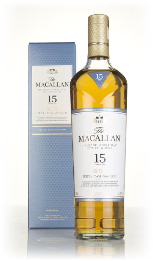 The Macallan 15 Year Old Triple Cask 3cl Sample Single Malt Whisky