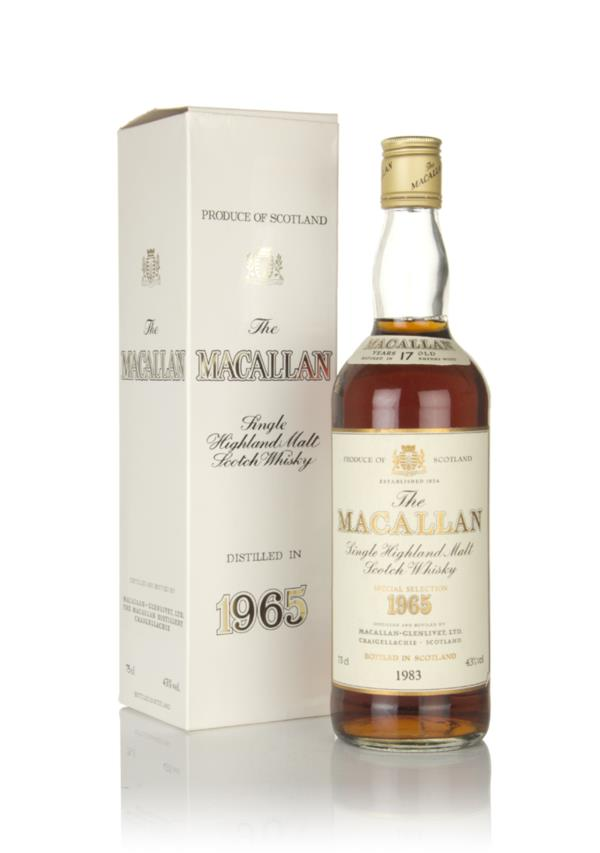 The Macallan 17 Year Old 1965  - Special Selection Single Malt Whisky