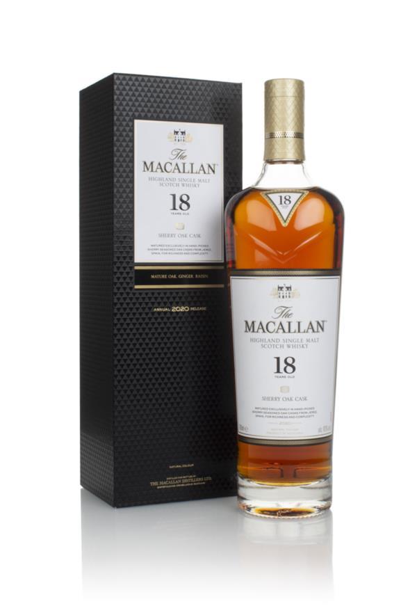 The Macallan 18 Year Old Sherry Oak (2020 Release) 3cl Sample Single Malt Whisky