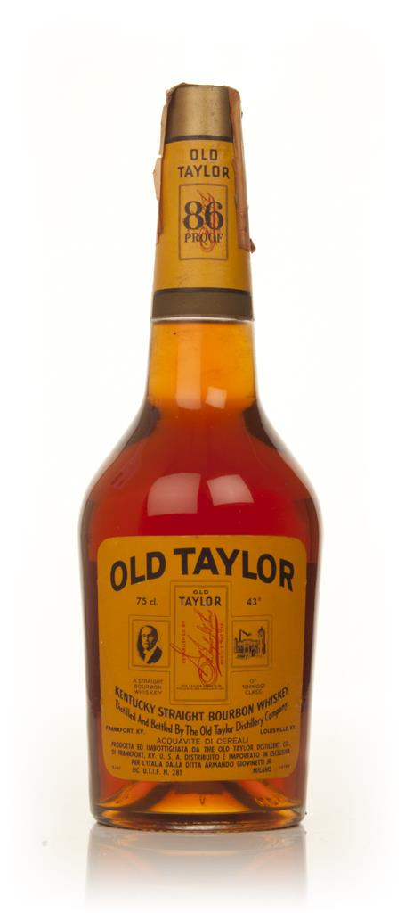 Old Taylor Kentucky Bourbon - late 1960s Bourbon Whiskey