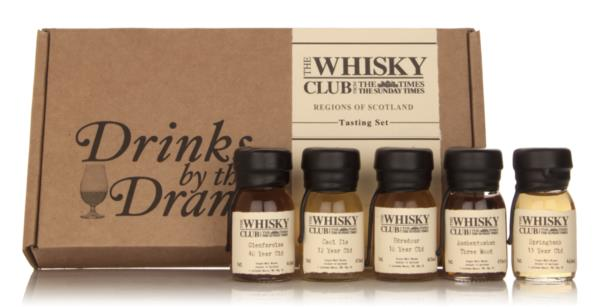 The Whisky Club - Regions Tasting Set Single Malt Whisky