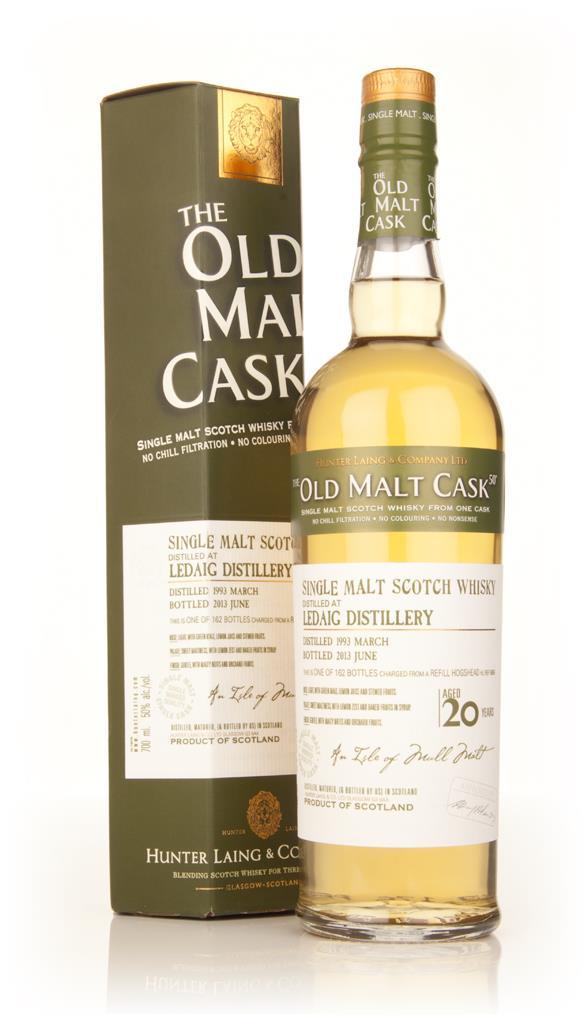 Ledaig 20 Year Old 1993 (cask 9858) - Old Malt Cask (Hunter Laing) Single Malt Whisky