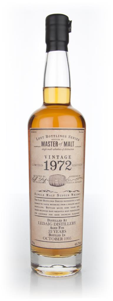 Ledaig 22 Year Old 1972 - Lost Bottlings Series (Master of Malt) Single Malt Whisky