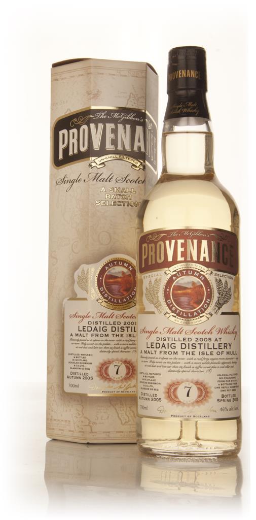 Ledaig 7 Year Old 2005 (cask 9654) - Provenance (Douglas Laing) Single Malt Whisky