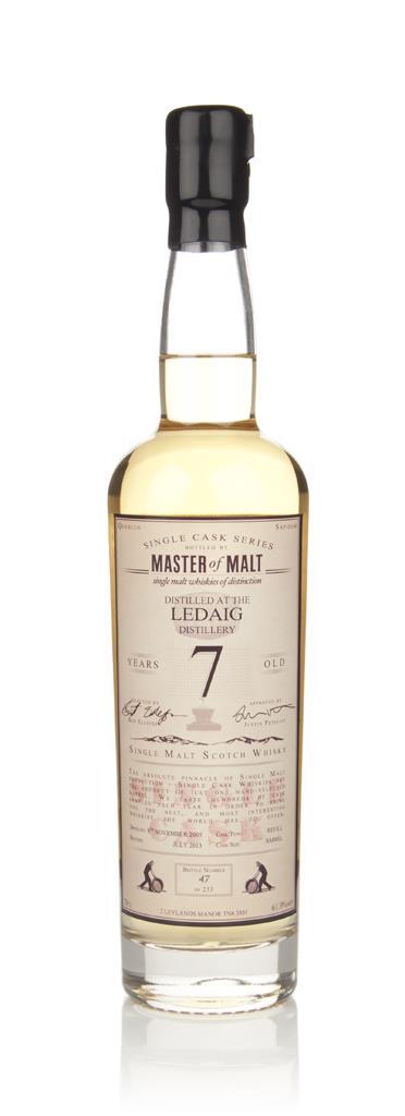 Ledaig  7 Year Old - Single Cask (Master of Malt) Single Malt Whisky