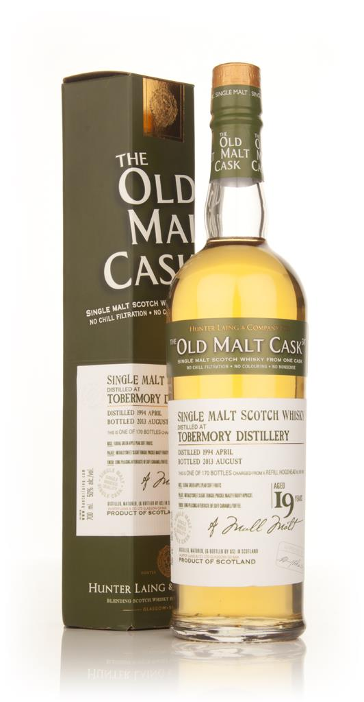 Tobermory 19 Year Old 1994 (cask 9910) - Old Malt Cask (Hunter Laing) Single Malt Whisky