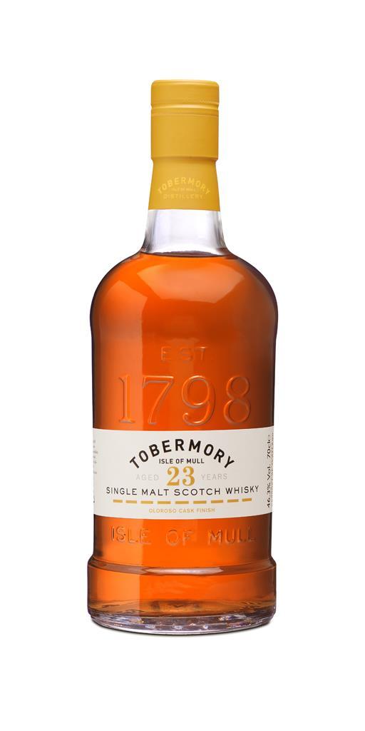 Tobermory 23 Year Old Oloroso Sherry Cask Finish 3cl Sample Single Malt Whisky