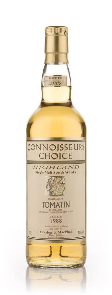 Tomatin 1988 - Connoisseurs Choice (Gordon and MacPhail) Single Malt Whisky