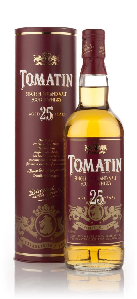 Tomatin 25 Year Old Single Malt Whisky