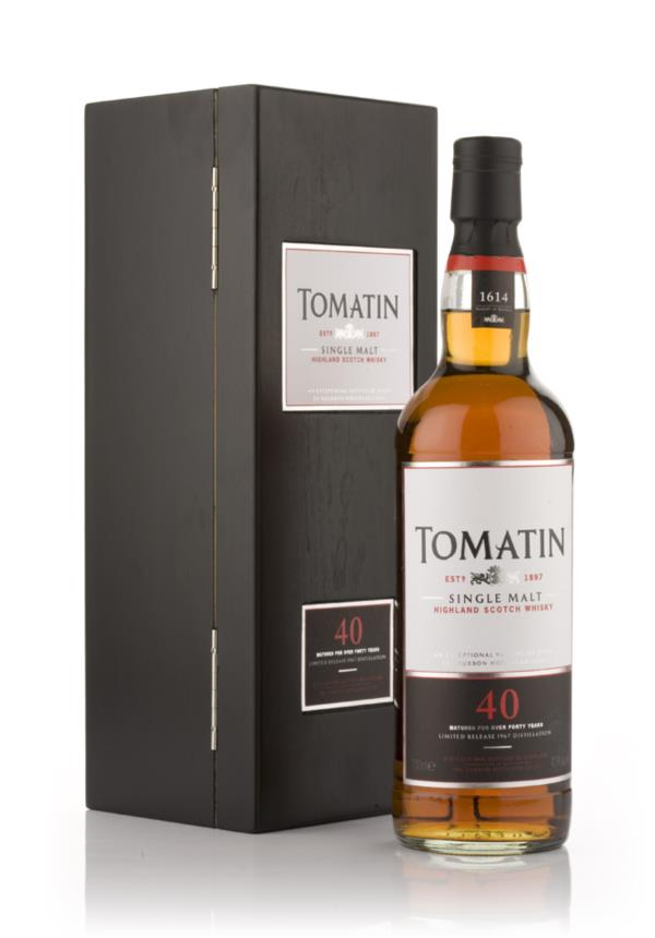 Tomatin 40 Year Old Single Malt Whisky