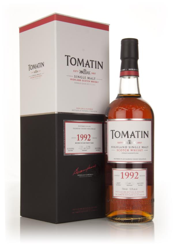 Tomatin 1992 Oloroso Sherry Hogshead Matured Single Malt Whisky