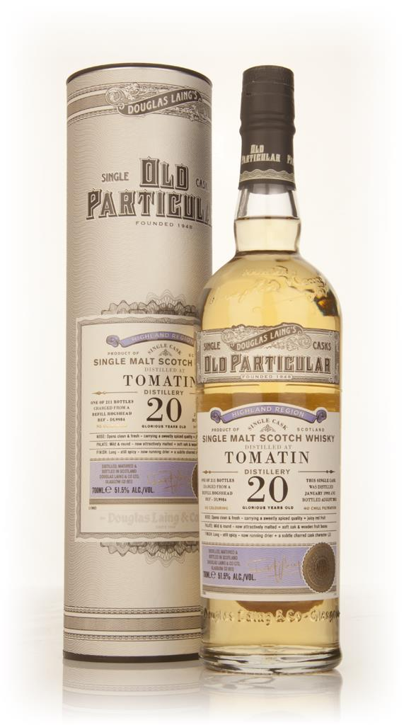 Tomatin 20 Year Old 1993 (cask 9984) - Old Particular (Douglas Laing) Single Malt Whisky