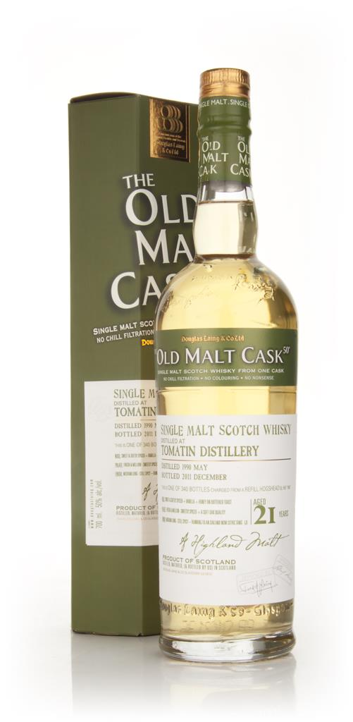 Tomatin 21 Year Old 1990 - Old Malt Cask (Douglas Laing) Single Malt Whisky