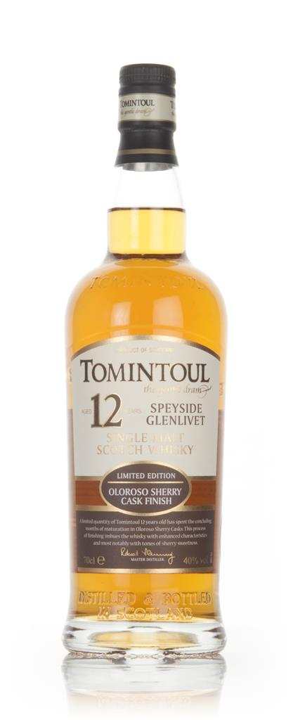 Tomintoul 12 Year Old Oloroso Sherry Cask Single Malt Whisky