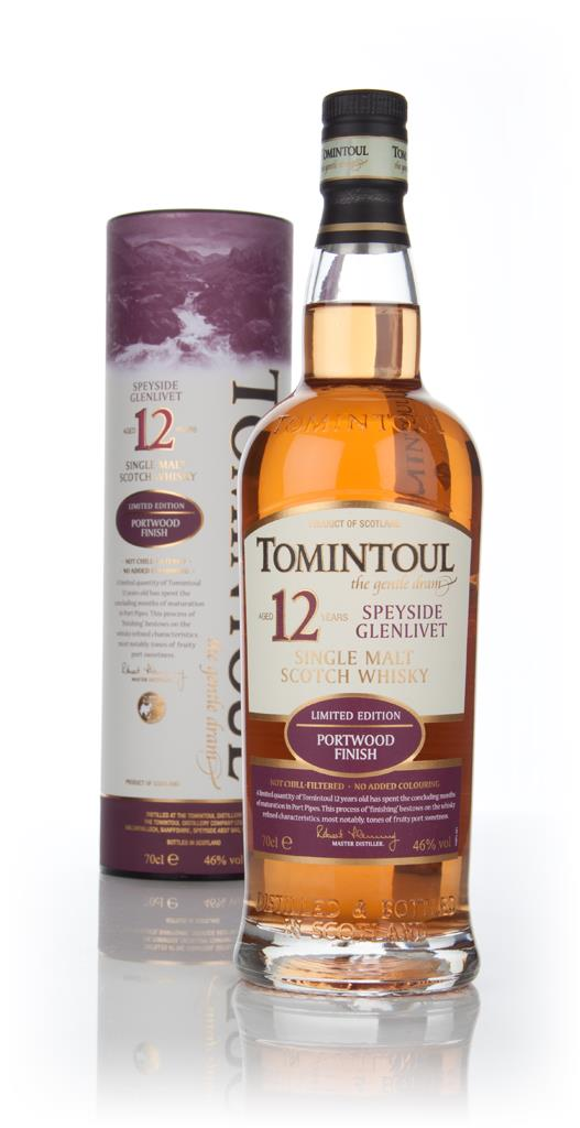 Tomintoul 12 Year Old Portwood Finish Single Malt Whisky