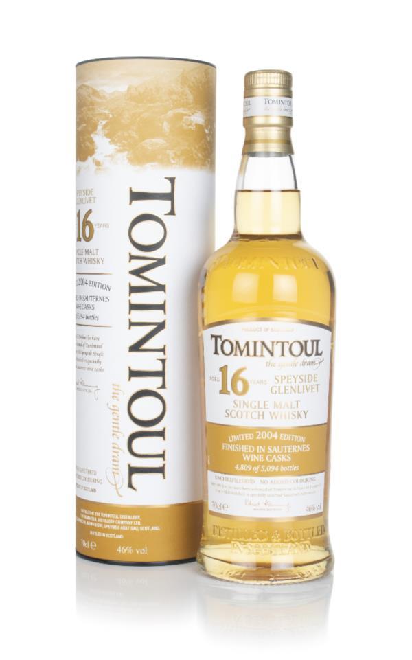 Tomintoul 16 Year Old - Sauternes Cask Finish Single Malt Whisky