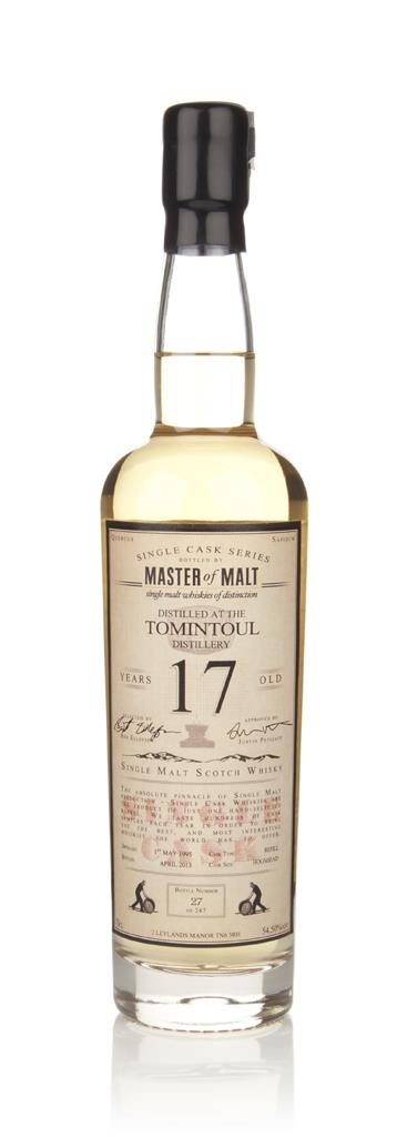 Tomintoul 17 Year Old 1995 - Single Cask (Master of Malt) Single Malt Whisky