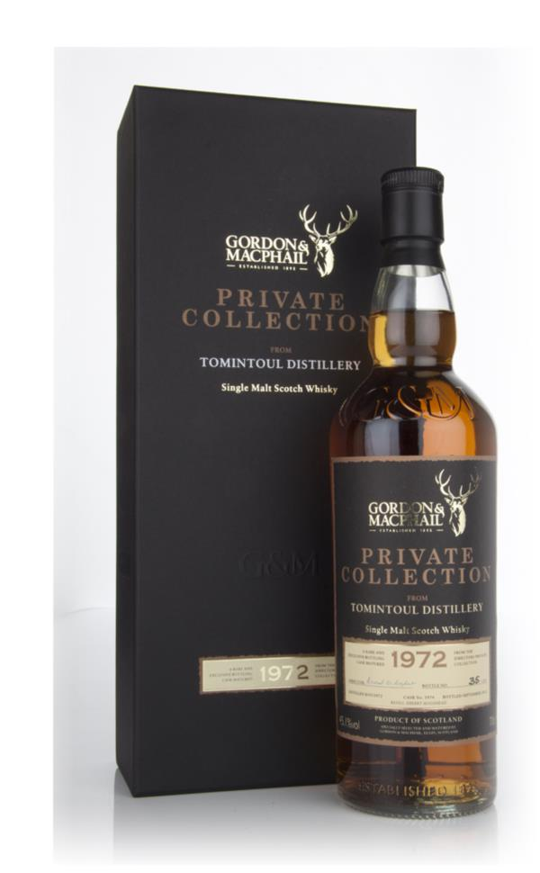 Tomintoul 1972  - Private Collection (Gordon and MacPhail) Single Malt Whisky