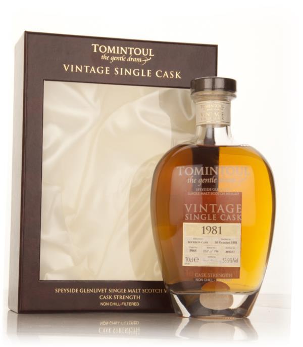 Tomintoul 1981 (cask 5985) - Vintage Single Cask Single Malt Whisky
