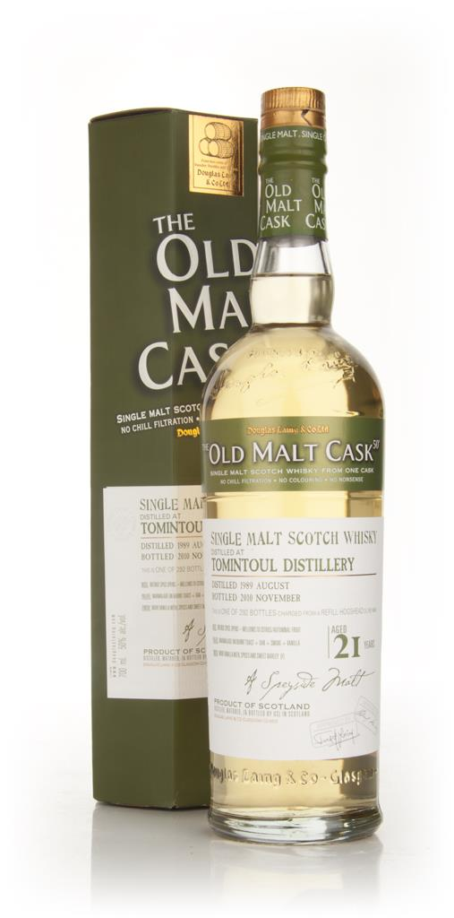Tomintoul 21 Year Old 1989 Cask 6645 - Old Malt Cask (Douglas Laing) Single Malt Whisky