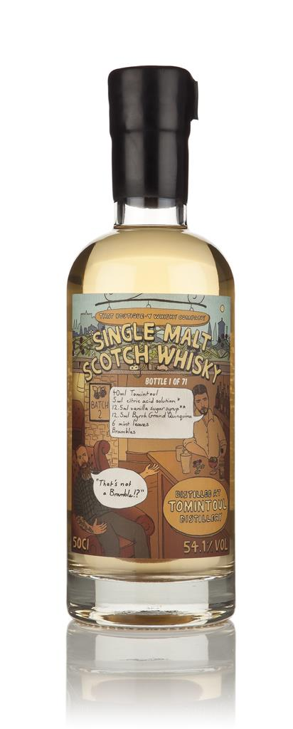 Tomintoul - Batch 2 (That Boutique-y Whisky Company) 3cl Sample Single Malt Whisky