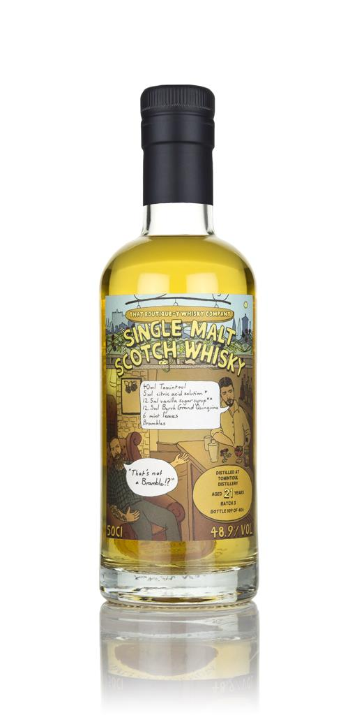 Tomintoul - Batch 1 (That Boutique-y Whisky Company) Single Malt Whisky