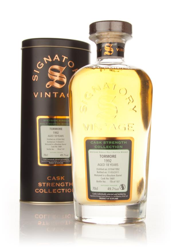 Tormore 18 Year Old 1992 Cask 5681 - Cask Strength Collection (Signato Single Malt Whisky