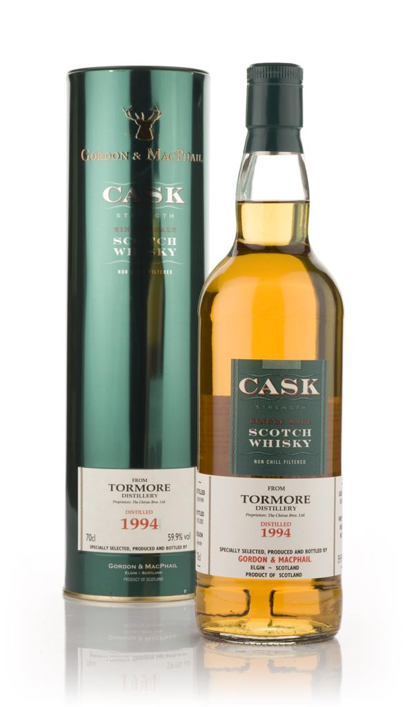 Tormore 1994 - Cask Strength (Gordon and MacPhail) Single Malt Whisky