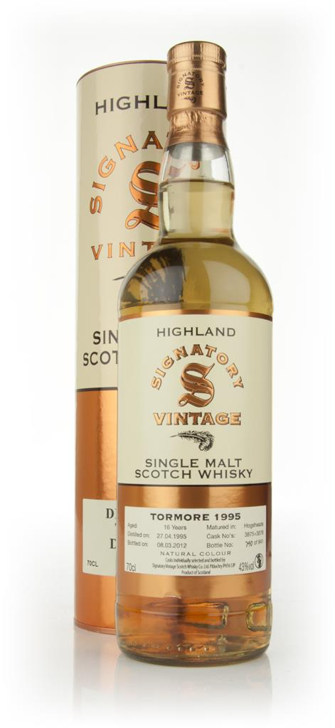 Tormore 16 Year Old 1995 (Signatory) Single Malt Whisky