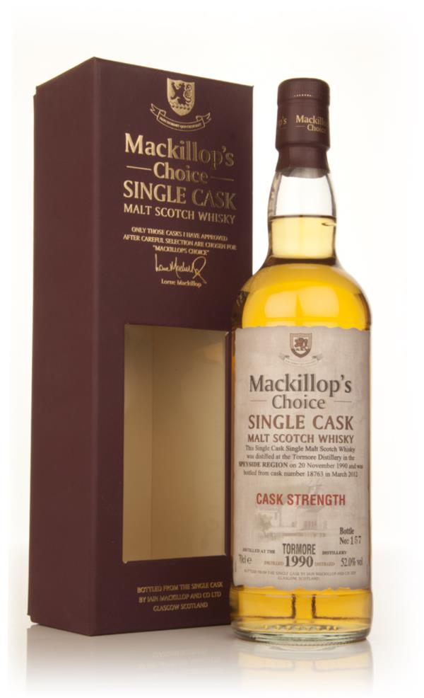 Tormore 21 Year Old 1990 - Mackillop's Choice Cask Strength Single Malt Whisky