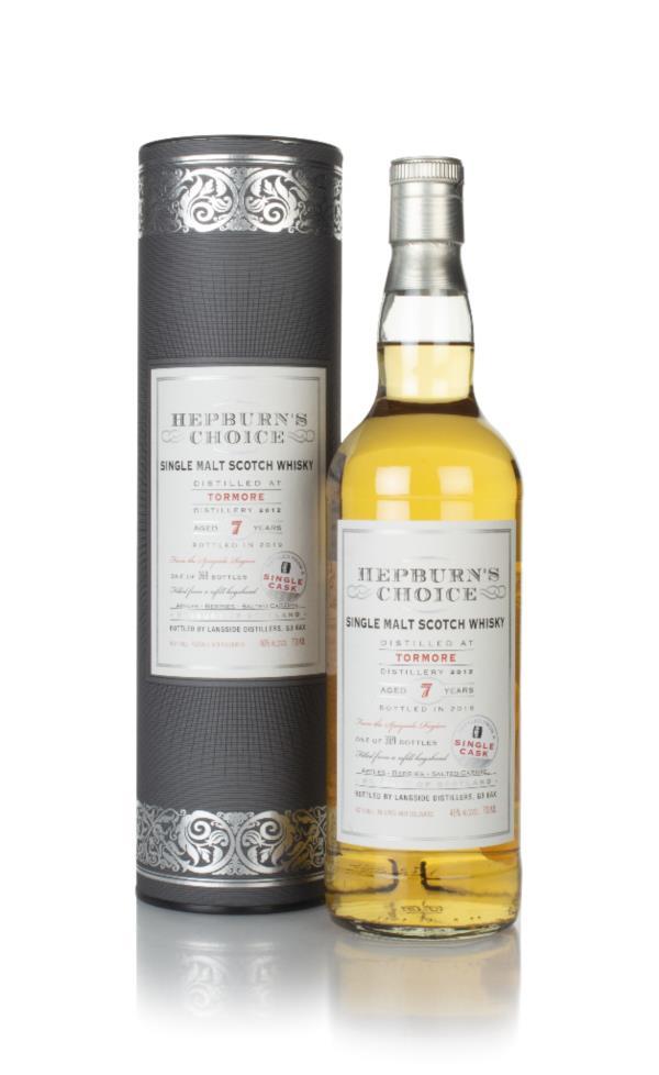 Tormore 7 Year Old 2012 - Hepburn's Choice (Langside) Single Malt Whisky