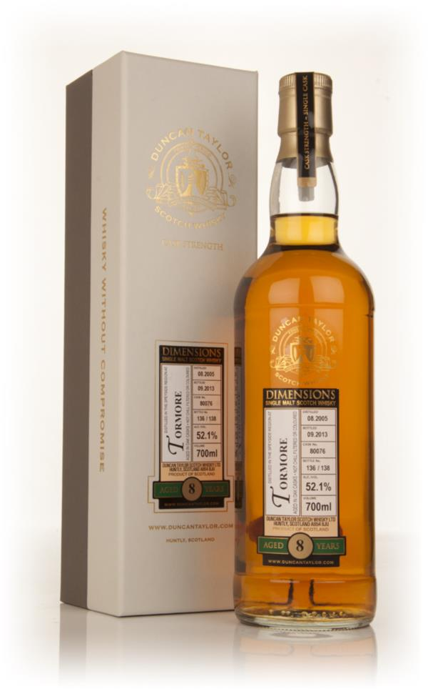 Tormore 8 Year Old 2005 (cask 80076) - Dimensions (Duncan Taylor) Single Malt Whisky