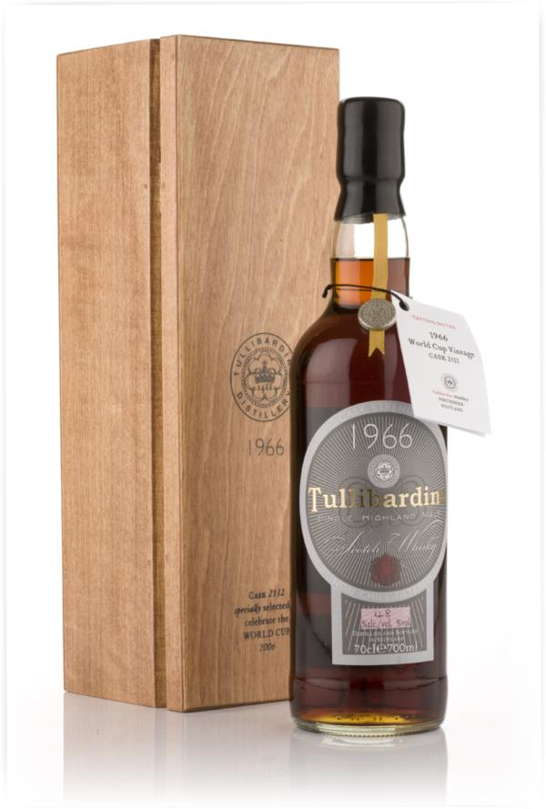 Tullibardine 1966 World Cup Edition Single Malt Whisky