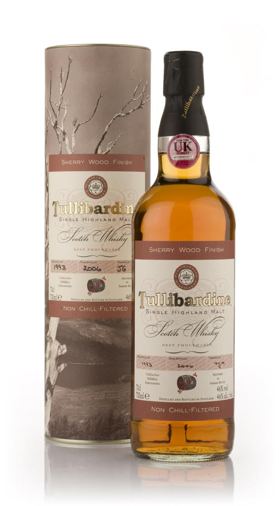 Tullibardine 1993 Sherry Wood Finish Single Malt Whisky
