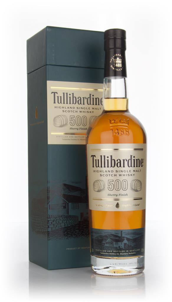 Tullibardine 500 Sherry Cask Finish Single Malt Whisky