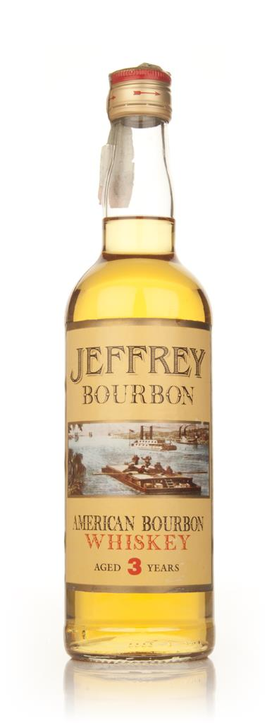 Jeffrey 3 Year Old Kentucky Bourbon - 1980s Bourbon Whiskey