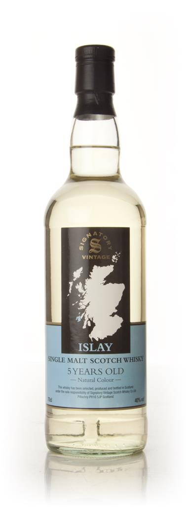 Vintage Islay 5 Year Old Malt (Signatory) Whisky Whiskey