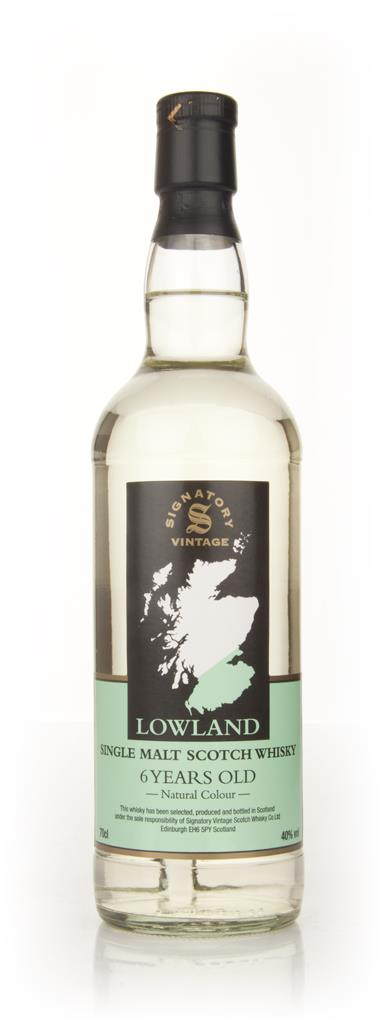 Vintage Lowland  6 Year Old Malt (Signatory) Single Malt Whisky