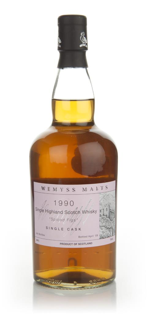 Spiced Figs 1990 (Wemyss Malts) Single Malt Whisky