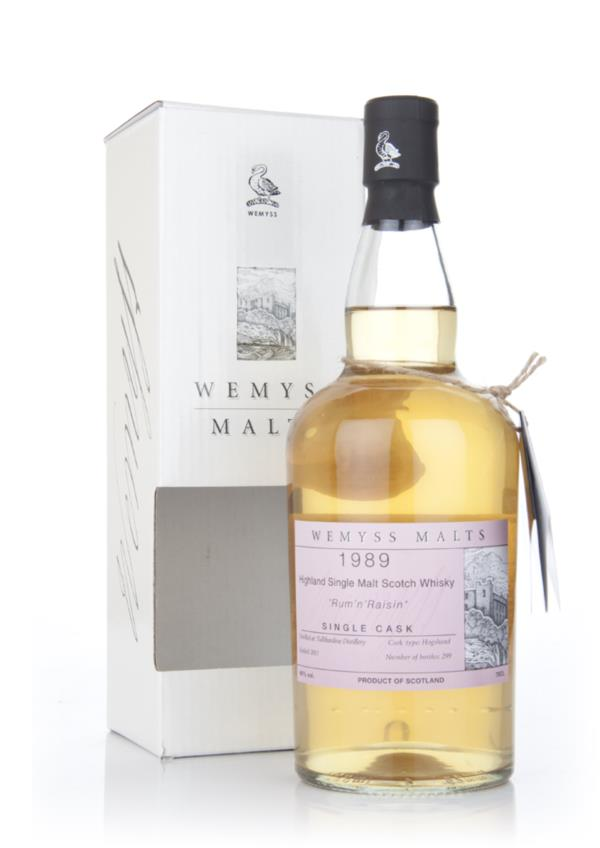 Wemyss Rum n Raisin 1989 (Tullibardine) Single Malt Whisky