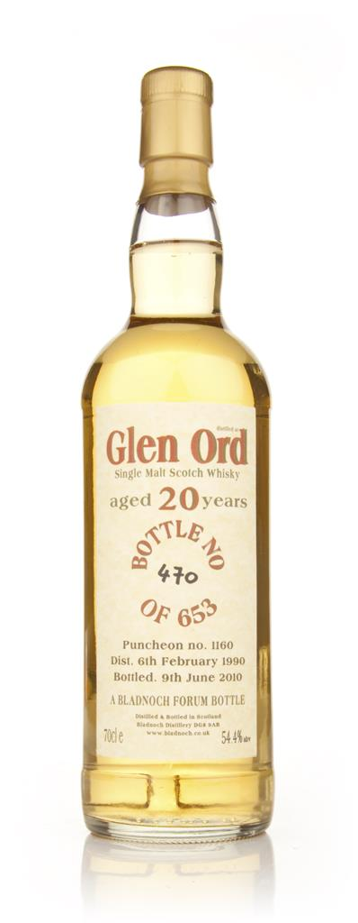 Glen Ord 20 Year Old 1990 (Bladnoch) Single Malt Whisky