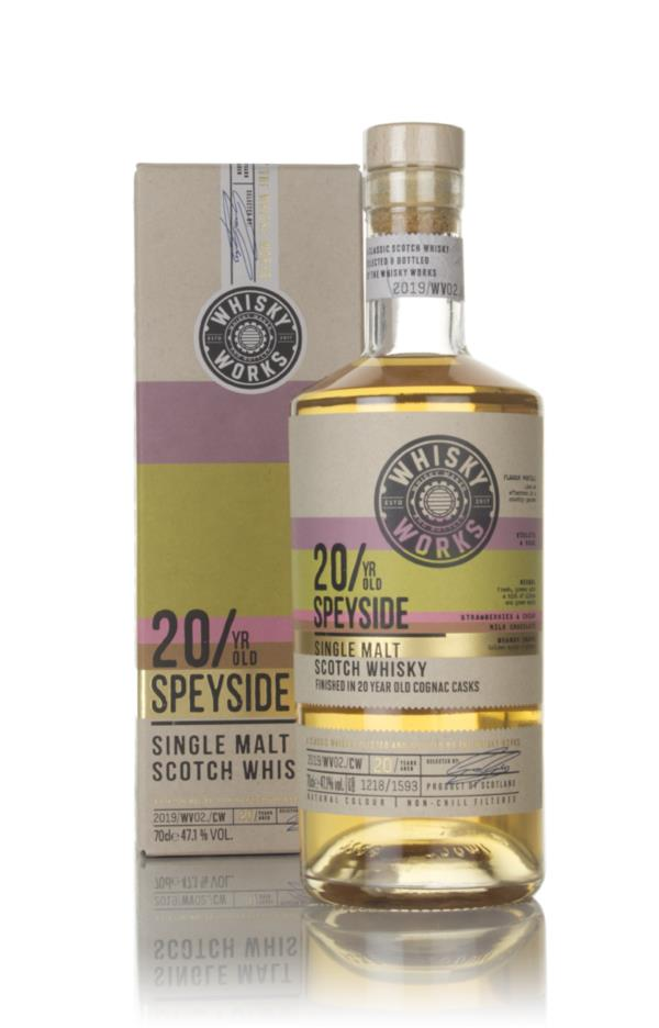 Whisky Works Speyside 20 Year Old 3cl Sample Single Malt Whisky