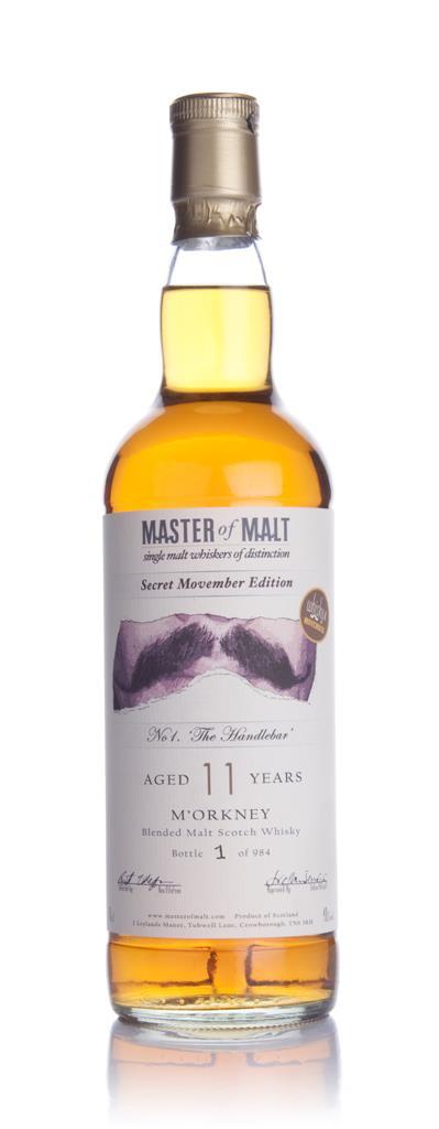 Whisky 4 Movember No 1. The Handlebar Blended Whisky