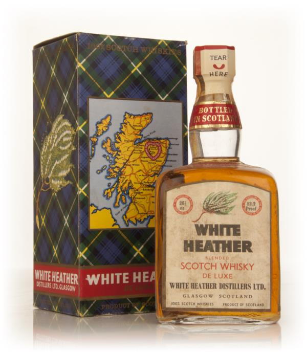 White Heather Blended Scotch Whisky - 1960s Blended Whisky
