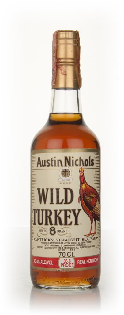 Wild Turkey 8 Year Old - Early 1980s Whisky Whiskey