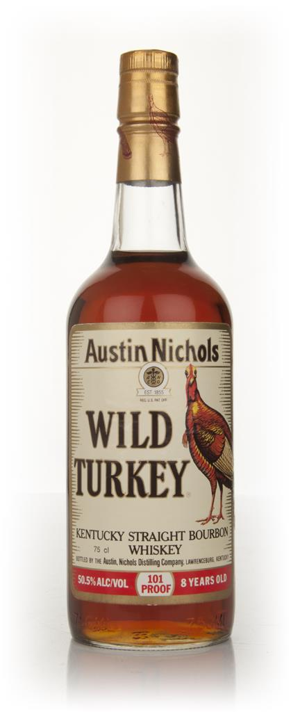 Wild Turkey 8 Year Old - Early 1980s Bourbon Whiskey