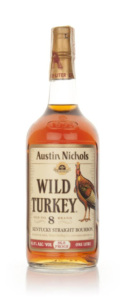 Wild Turkey 8 Year Old 101 Proof - 1980s Bourbon Whiskey
