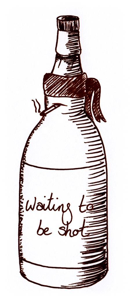 Wild Turkey 8 Year Old - 1960s Bourbon Whiskey